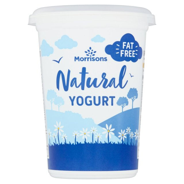 Morrisons Fat Free Natural Yogurt