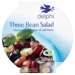 Delphi Three Bean Salad Marinated With Olive Oil & Herbs