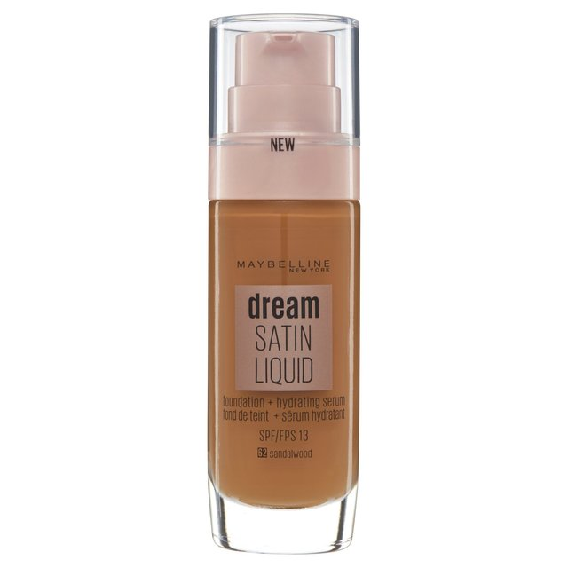 Maybelline Dream Satin Foundation 62 Deep Spice