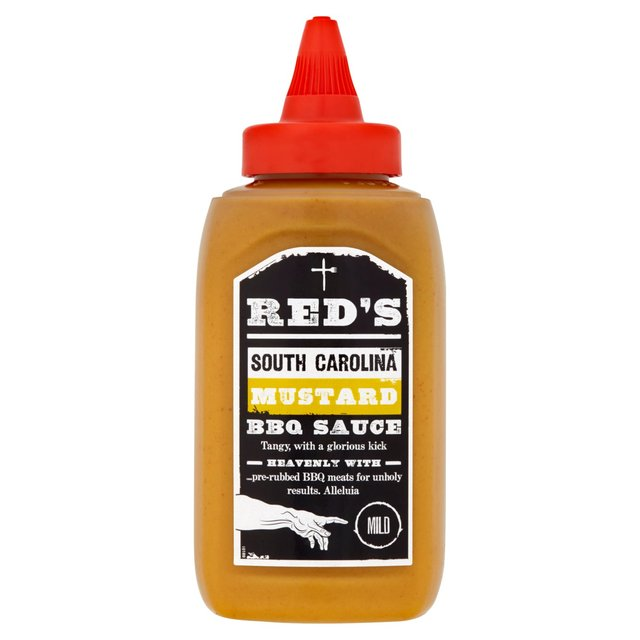 Morrisons: Red's South Carolina Mustard BBQ Sauce Mild 320g(Product ...