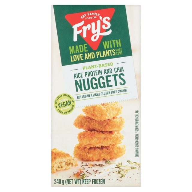 Fry's Rice Protein & Chia Nuggets