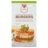 Fry's Quinoa & Brown Rice 4 Protein Burgers