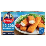 Birds Eye 10 Cod Fish Fingers