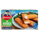 Birds Eye 10 Haddock Fish Fingers