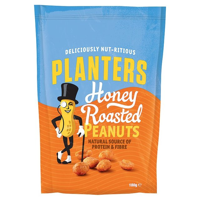 planters peanuts piece ounce planter box nut honey roasted bags