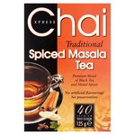 Chai Express Traitional Spiced Masala Tea 40PK