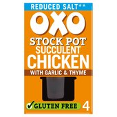 Oxo Reduced Salt Chicken Stock Pots