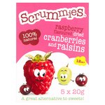 Scrummies Raspberry Snack