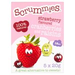 Scrummies Strawberry Snacks