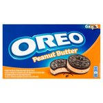 Oreo Peanut Butter Ice Cream Sandwich 6 Pack