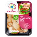 Haloodies Sliced Cajun Chicken Breast