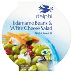 Delphi Edamame Beans & White Cheese Salad With Olive Oil
