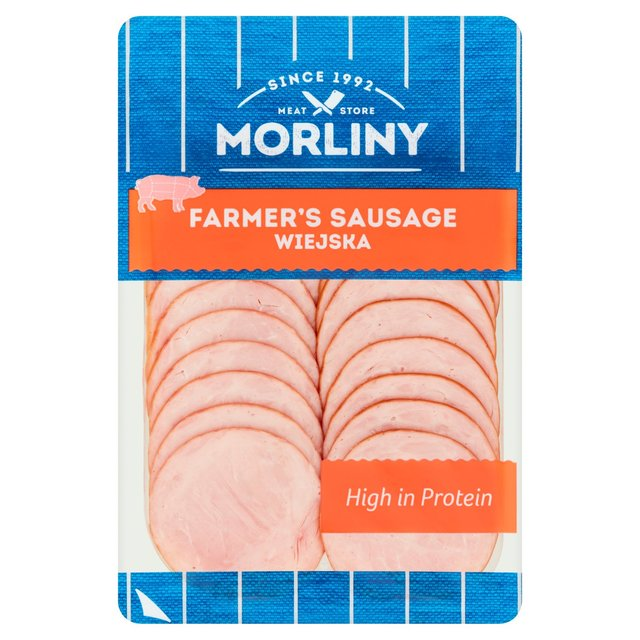 Morliny Polish Smoked Farmer's Sausage Wiejska