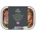 Morrisons The Best 2 Chicken Breast & Asparagus Caesar Melts