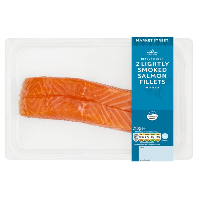 Morrisons 2 Lightly Smoked Salmon Fillets