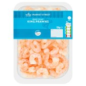 Morrisons Cooked & Peeled King Prawns