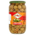 Crespo Stuffed Green Olives with Pimento Paste In Brine