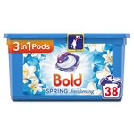 Bold 2 In1 Lotus & Water Lily Washing Capsules 38 Washes