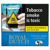 DT Royal Dutch Minature Blue Cigars