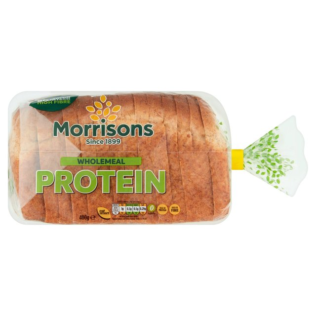 Morrisons High Protein Wholemeal Bread