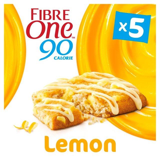 Morrisons: Fibre One 90 Calorie Lemon Drizzle Bars 5 X 24g