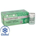 Fever Tree Elderflower Tonic. Delivered Chilled
