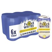 Morrisons R Whites Premium Traditional Cloudy Lemonade 6