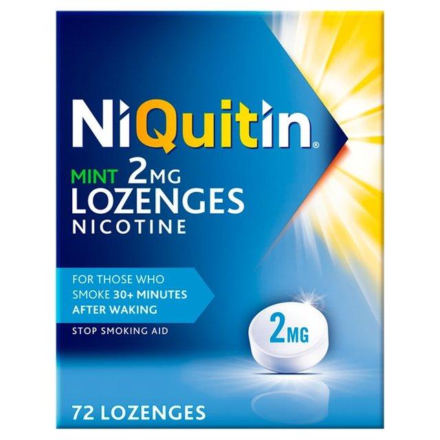 Morrisons: Niquitin CQ Mint Lozenge 2 Mg 72 per pack(Product