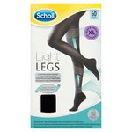 Scholl Extra Large Compression Hosiery Black