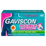 Gaviscon Double Action Tablets Mint