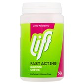 Lift Raspberry Fast-Acting Glucose