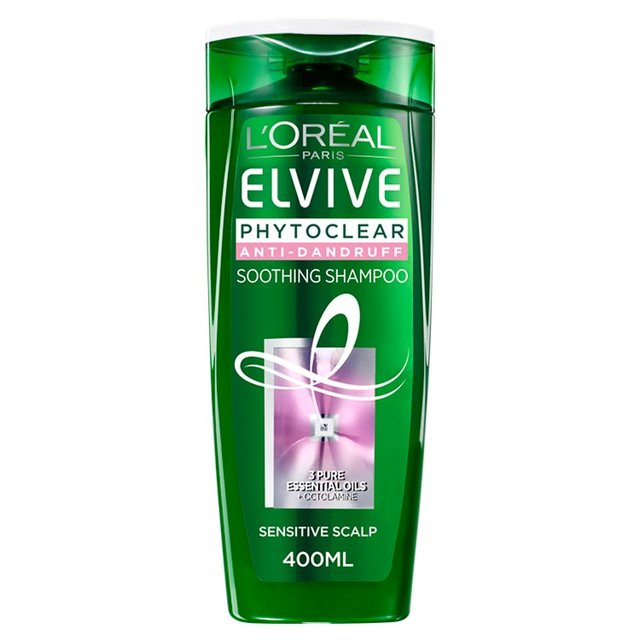 L'Oreal Elvive Phytoclear Sensitive Scalp Soothing Shampoo