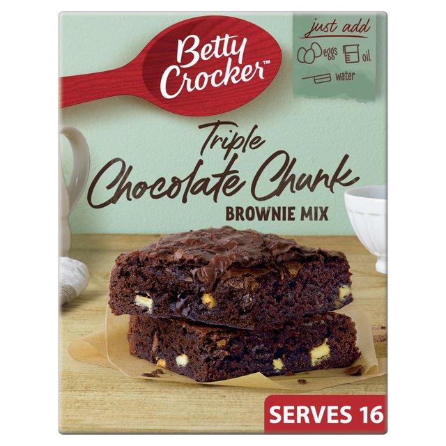 Betty Crocker Triple Chocolate Chunk Brownie Mix