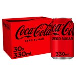 Coca - Cola Zero Sugar. Delivered Chilled