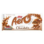 Aero Bubbly Milk Chocolate Sharing Bar