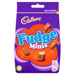 Cadbury Fudge Minis Chocolate Bag