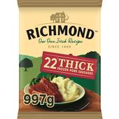 Richmond Thick Frozen Sausages 22 Pack