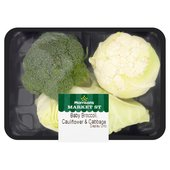 Morrisons Baby Broccoli Cauliflower & Cabbage