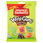 Maynards Bassetts Wine Gums Tangy Sweets Bag