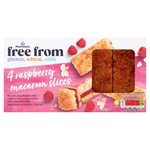 Morrisons Free From Raspberry Macaroon Slices