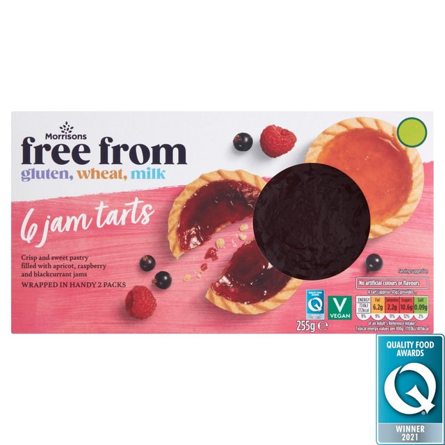 Morrisons Free From Jam Tarts