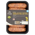 Morrisons The Best Hickory Sausages with Grilled Corn & Peppers