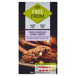 Morrisons Free From Triple Choc Cookies