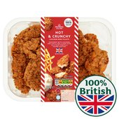 Morrisons Hot & Crunchy Breaded Chicken Mini Fillets
