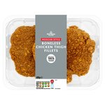 Morrisons Mexican Breaded Chicken Thigh Fillets