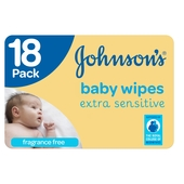 Johnsons Extra Sensitive Fragrance  Baby Wipes