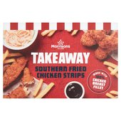 Morrisons Southern Fried Coated Chicken Strips