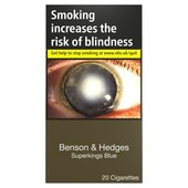 Benson & Hedges Superkings Blue