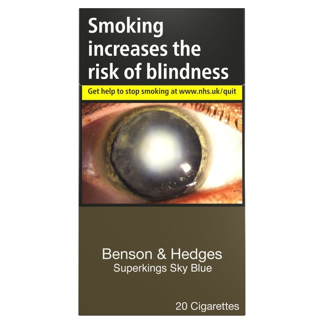 Benson & Hedges Superkings Sky Blue