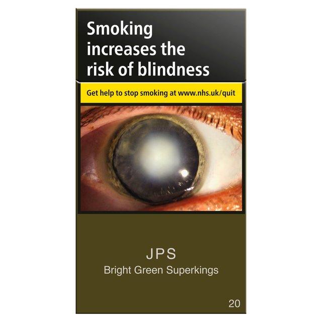 Morrisons Jps Superkings Green 20 Per Pack Product